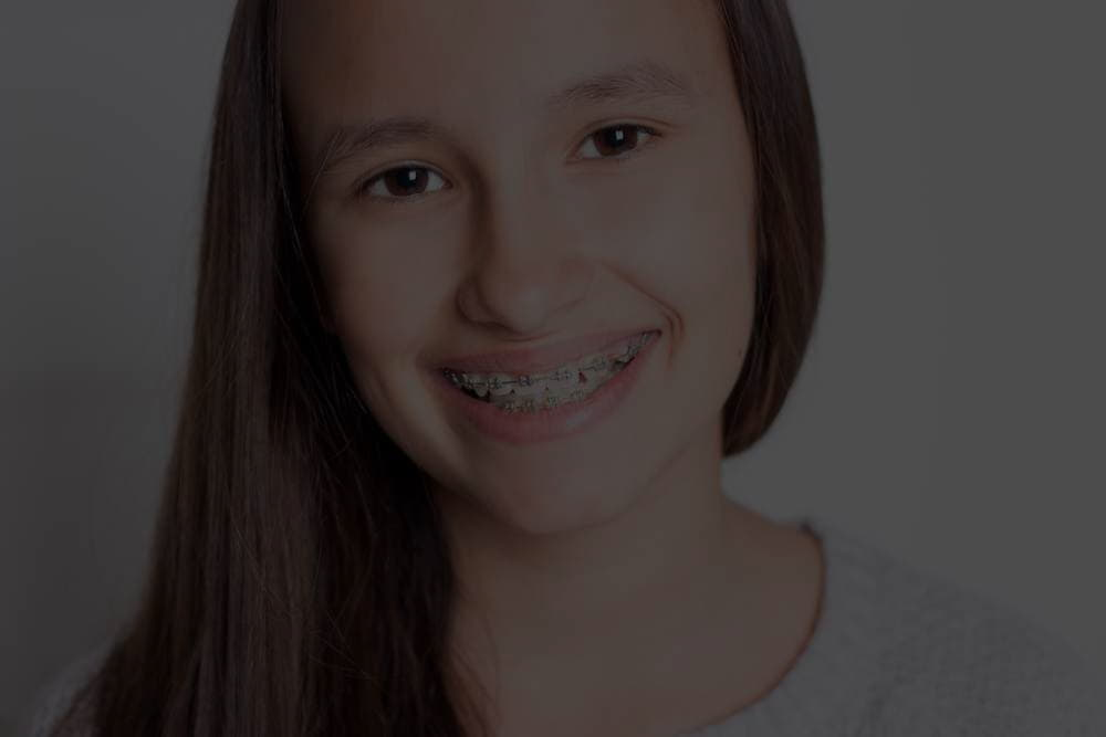 When is orthodontics necessary in adolescents?