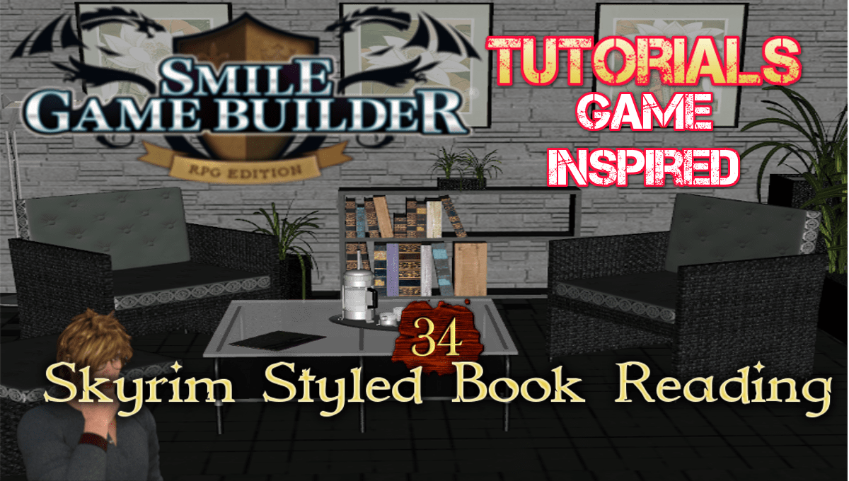 SGB Tutorial #34 - Skyrim Styled Book Reading