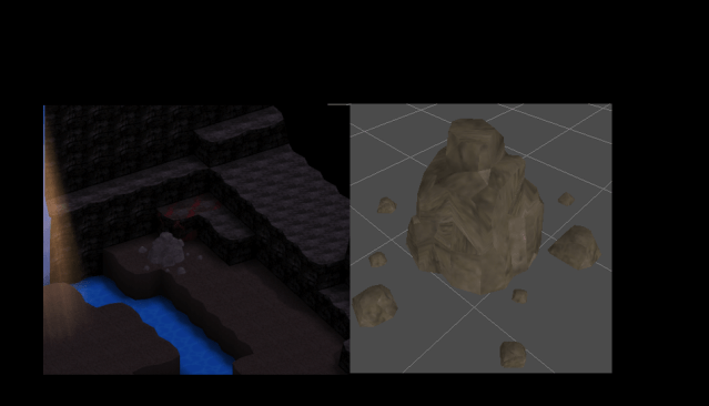 """Smile Game Builder High Quality Assets: """"Old Ruins"""" Stone Object"""