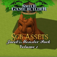 Jacob's Monster Pack Volume 1 - Smile Game Builder Assets
