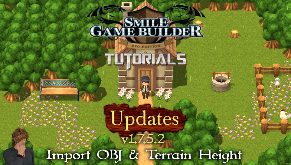 Smile Game Builder Update v1.7.5.2 - Import OBJ & Terrain Height