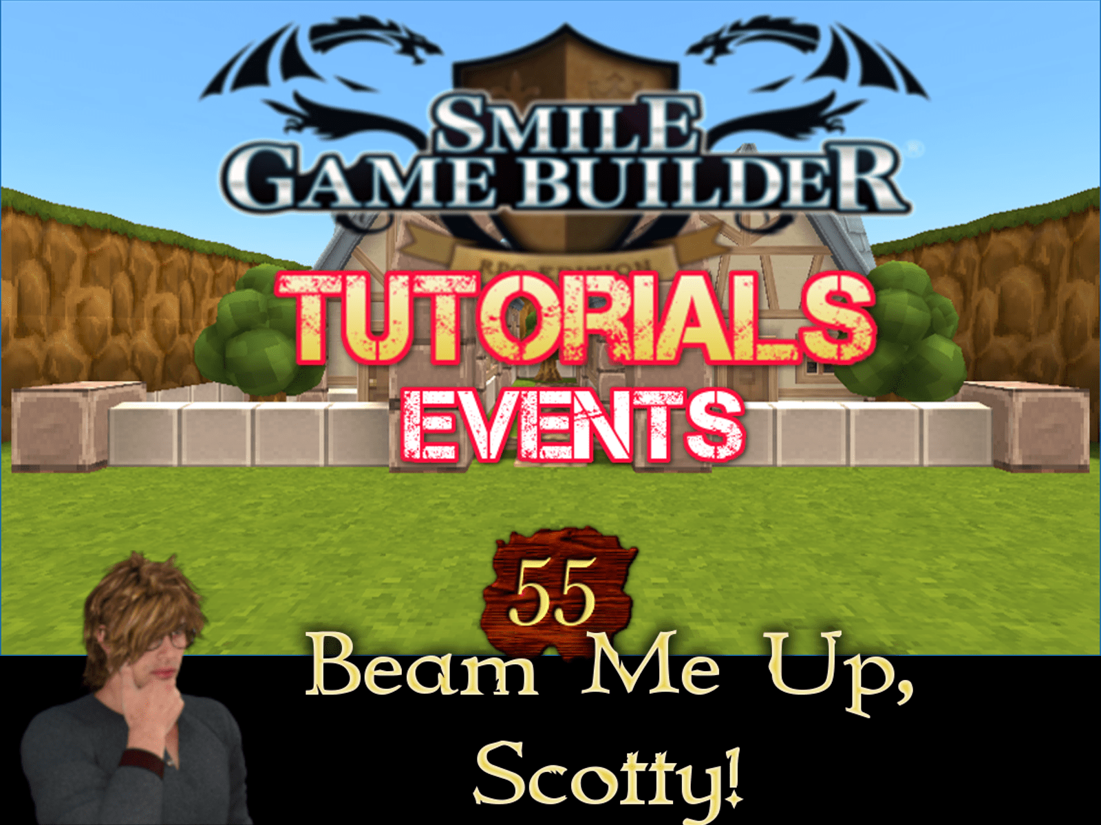 Smile Game Builder Tutorial 55: Beam Me Up, Scotty!