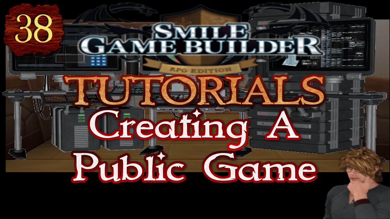 Smile Game Builder Tutorial 038: Creating A Public Game