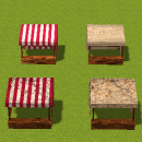 Modular Market Models – SMILE GAME BUILDER Assets – Showcase #2