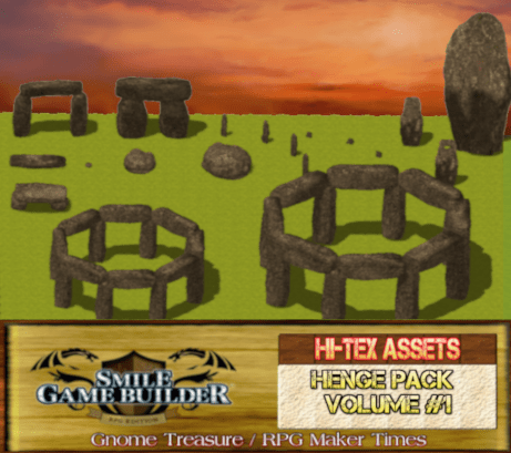 The Modular Henge Pack - SMILE GAME BUILDER