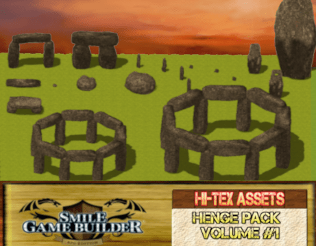 The Modular Henge Pack - SMILE GAME BUILDER