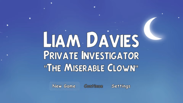 Liam Davies, PI (The Miserable Clown)   Tymmo   SGB Summer 2021 Game Jam