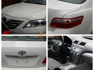 Toyota Camry White 2008 model (Negotiable)