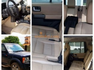 Dark Blue Land Rover LR3 2007 Model