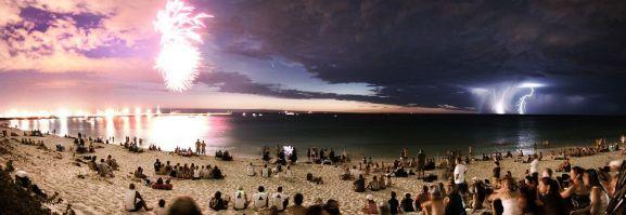 Fireworks vs Lightning
