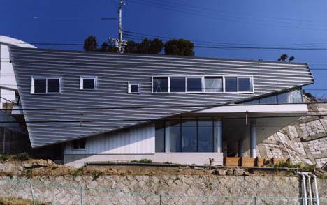 Ultramodern Skinny Lot Home