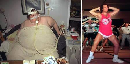 Michael Hebranko: former heaviest man on earth down seized to 90 kg
