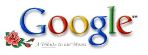 Google 2000 Mothers Day Logo