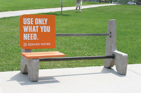 Clever and Creative Bench Advertisements