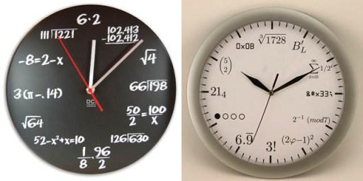 Exotic clocks