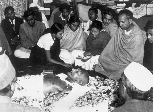 Image result for gandhi funeral