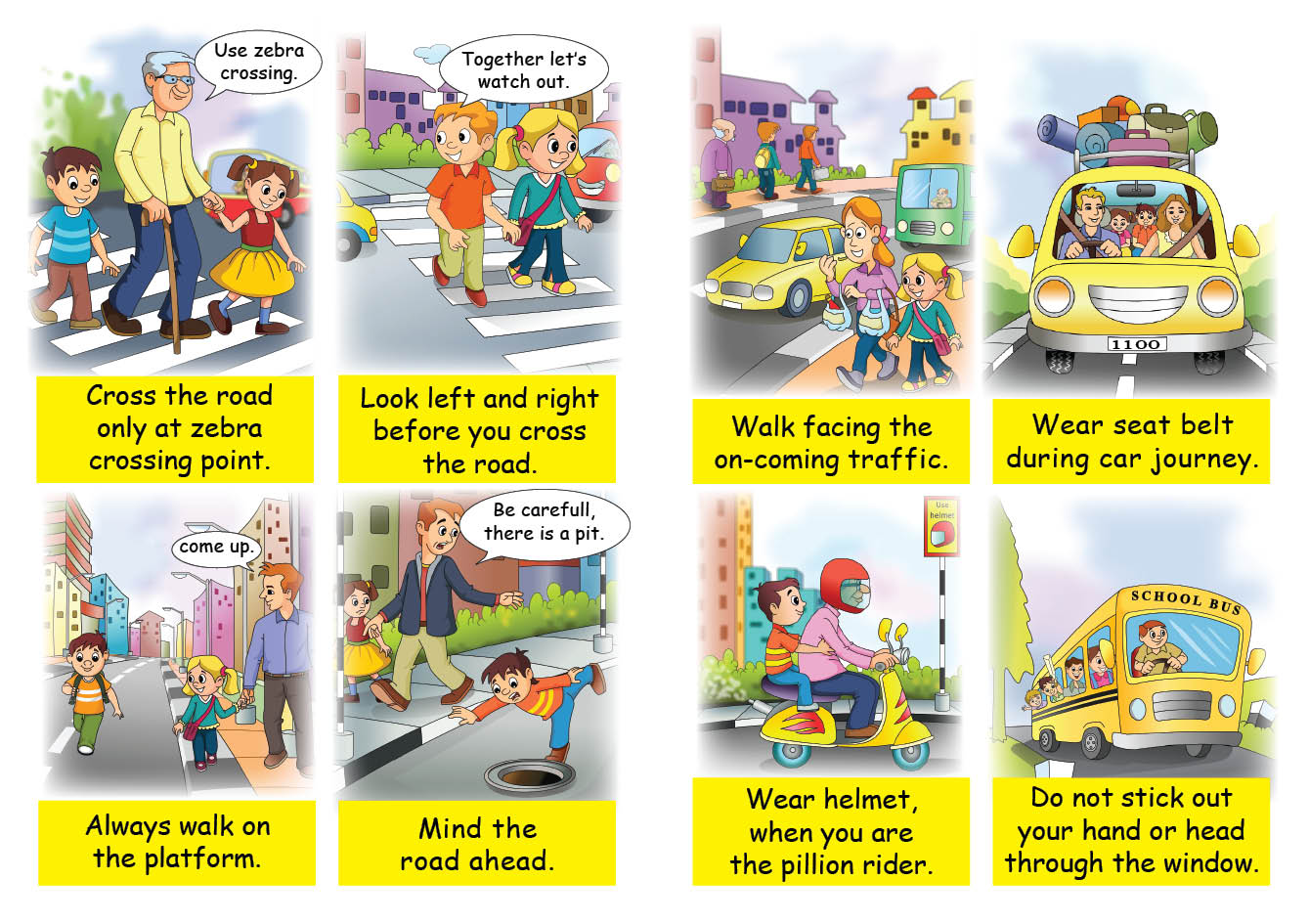 Buy Child Safety Books For Kids Child Safety Book For