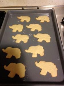Lil Elephant Sugar Cookies - 8