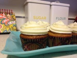 Carrot Cake Cupcakes - 20