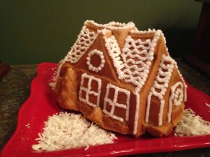 Mini Almond House Cakes - 15