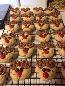 Peanut Butter Reindeer Cookies - 9
