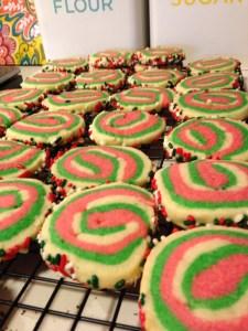 Christmas Roll Sugar Cookies - 13