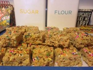 Cake Batter Rice Krispie Treats - 13