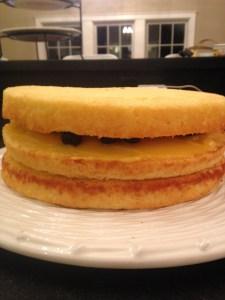 Lemon Blueberry Layer Cake - 16