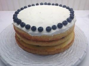 Lemon Blueberry Layer Cake - 21