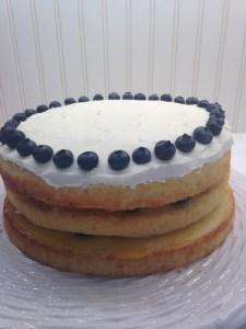 Lemon Blueberry Layer Cake - 22