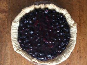 Blueberry Rum Pie - 17