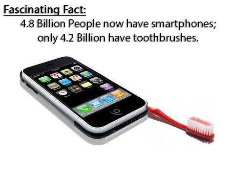 How to avoid cavities: actually USE your toothbrush and floss every day, not just your phone!