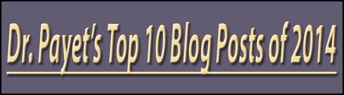 Top 2014 Blog Posts by Charlotte dentist Dr. Payet