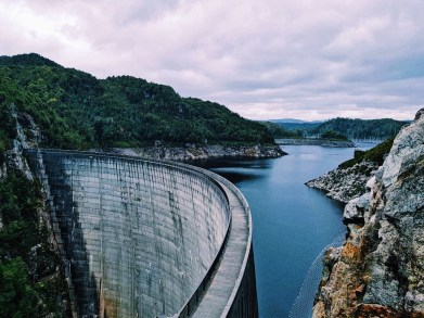 Gordon Dam Southwest Tasmania