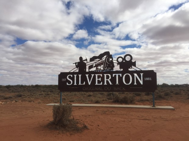 Silverton sign on the side of the road