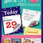 30% Off + Free Shipping Boden email
