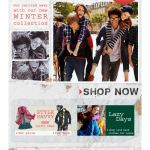 Get carried away with our new winter collection Boden email