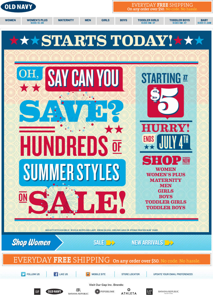 old-navy-email-july-4th-sale – Smiley Cat