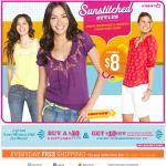 Old Navy email design: Sunstitched Styles