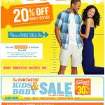 Old Navy email design: This Tall