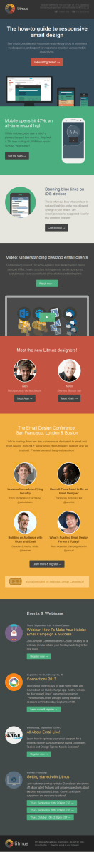 The how-to guide to responsive email design Litmus email