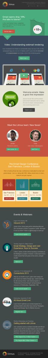 Understanding webmail rendering Litmus email