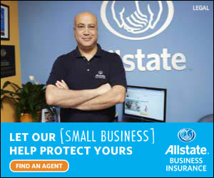Allstate Insurance banner ad design example