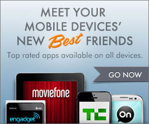 AOL Mobile banner ad design