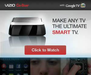 Vizio banner ad design example
