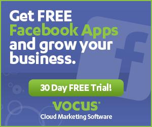 Vocus banner ad design example