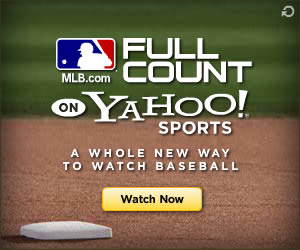 Yahoo! Sports banner ad design example