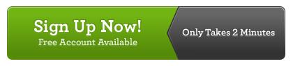 Denote web button design example