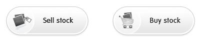 iStockphoto web button design example