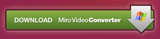 Miro Video Converter web button design example